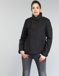 Oblečenie Ženy Kabátiky Trenchcoat G-Star Raw FLORENCE CROPPED čierna