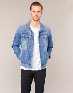 Oblečenie Muži Džínsové bundy G-Star Raw 3301 DECONSTRUCTED 3D SLIM Modrá