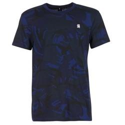 Oblečenie Muži Tričká s krátkym rukávom G-Star Raw HOYN Námornícka modrá / Modrá