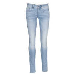 Oblečenie Ženy Džínsy Skinny G-Star Raw LYNN MID SKINNY Modrá / Clear