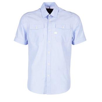 Oblečenie Muži Košele s krátkym rukávom G-Star Raw LANDOH Modrá