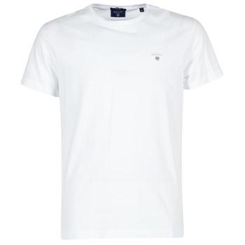 Oblečenie Muži Tričká s krátkym rukávom Gant THE ORIGINAL T-SHIRT Biela