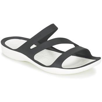 Topánky Ženy Sandále Crocs SWIFTWATER SANDAL W Čierna / Biela