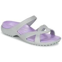 Topánky Ženy Sandále Crocs MELEEN TWIST šedá
