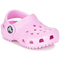 Topánky Dievčatá Nazuvky Crocs Classic Clog Kids Svetlá telová