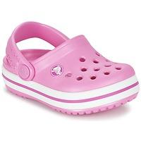 Topánky Dievčatá Nazuvky Crocs Crocband Clog Kids Ružová