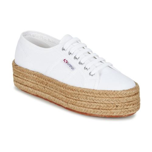Topánky Ženy Nízke tenisky Superga 2790 COTROPE W Biela