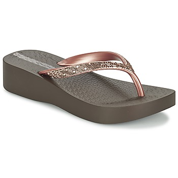Topánky Ženy Žabky Ipanema MESH PLAT II Hnedá / Ružová
