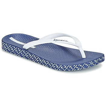 Topánky Ženy Žabky Ipanema ANATOMIC SOFT Biela / Modrá