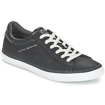 Topánky Ženy Nízke tenisky Esprit RIATA LACE UP čierna