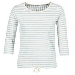 Oblečenie Ženy Blúzky Marc O'Polo GRASSIRCO Biela / Modrá