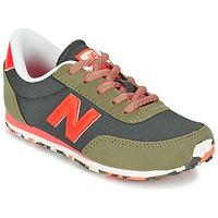 Topánky Deti Nízke tenisky New Balance KL410 Zelená / šedá / Oranžová
