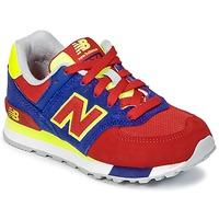 Topánky Deti Nízke tenisky New Balance KL574 Modrá / červená / žltá