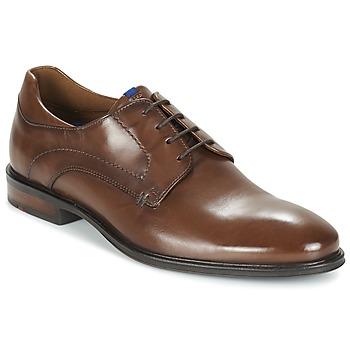 Topánky Muži Derbie Lloyd MILAN Hnedá