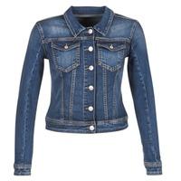 Oblečenie Ženy Džínsové bundy Meltin'pot JUSTINE Modrá / Raw