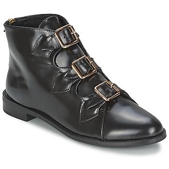 Topánky Ženy Čižmičky F-Troupe Triple Buckle Boot Čierna