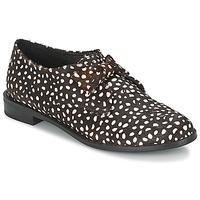 Topánky Ženy Derbie F-Troupe Bow Polka Čierna / Biela
