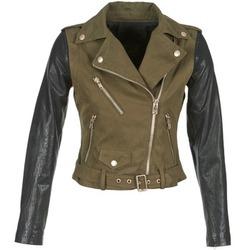 Oblečenie Ženy Kožené bundy a syntetické bundy Diesel L-LUPUS-C Kaki / Čierna
