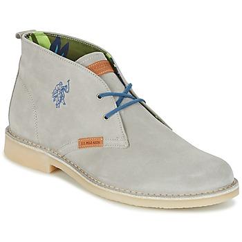Topánky Muži Polokozačky U.S Polo Assn. AMADEUS šedá