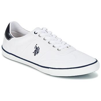 Topánky Muži Nízke tenisky U.S Polo Assn. RAY Biela
