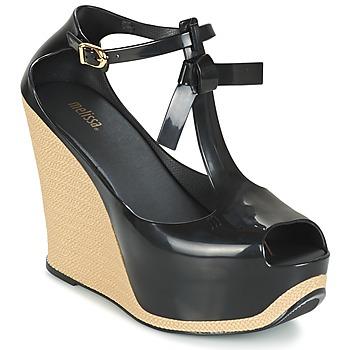 Topánky Ženy Sandále Melissa PEACE VI čierna / Béžová