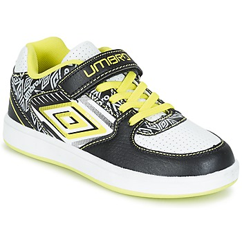 Topánky Chlapci Nízke tenisky Umbro COGAN čierna / Biela / žltá