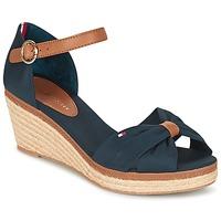 Topánky Ženy Sandále Tommy Hilfiger ELBA 40D Námornícka modrá / Hnedá
