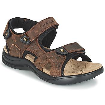 Topánky Muži Športové sandále Lumberjack EARTH Hnedá