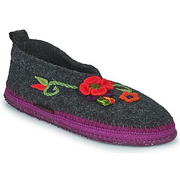 Topánky Ženy Papuče Giesswein TANGERHÜETTE Antracitová