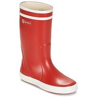 Topánky Deti Čižmy do dažďa Aigle LOLLY POP červená / Biela