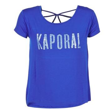 Oblečenie Ženy Tričká s krátkym rukávom Kaporal NIZA Modrá