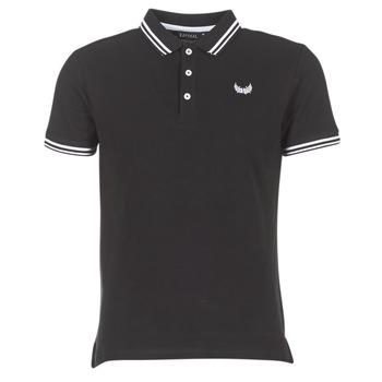 Oblečenie Muži Polokošele s krátkym rukávom Kaporal BASOC čierna