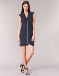 Oblečenie Ženy Krátke šaty DDP DISTOULA Námornícka modrá