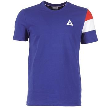 Oblečenie Muži Tričká s krátkym rukávom Le Coq Sportif BLUREA Modrá