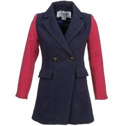 Oblečenie Ženy Kabáty Kling VERMEER Námornícka modrá