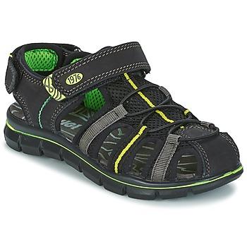Topánky Chlapci Sandále Primigi TEVEZ čierna / Zelená
