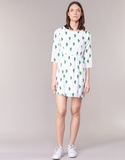 Oblečenie Ženy Krátke šaty Compania Fantastica ECACTUSSA Biela