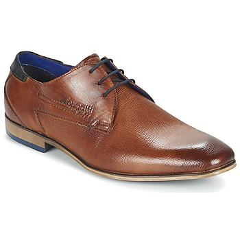 Topánky Muži Derbie Bugatti CALETTE Oranžová koňaková