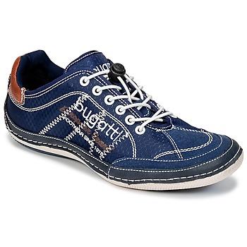 Topánky Muži Nízke tenisky Bugatti LAMETE Námornícka modrá