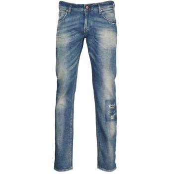 Oblečenie Muži Rovné džínsy Meltin'pot MARTIN Modrá / Clear
