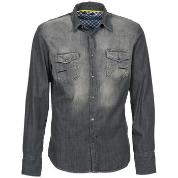 Oblečenie Muži Košele s dlhým rukávom Meltin'pot CAREY šedá