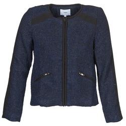 Oblečenie Ženy Saká a blejzre Suncoo DANAELLE Modrá
