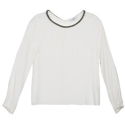 Oblečenie Ženy Blúzky Suncoo LUCIA Krémová