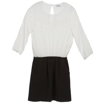 Oblečenie Ženy Krátke šaty Suncoo CELESTINE Čierna / Biela