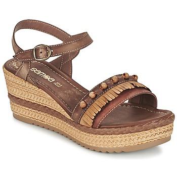 Topánky Ženy Sandále Samoa MOLAY Hnedá