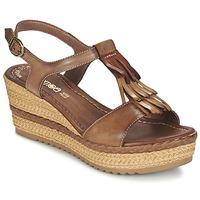 Topánky Ženy Sandále Samoa DREDU Hnedá