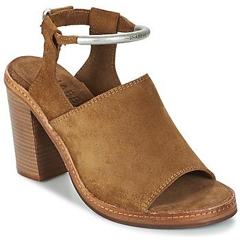 Topánky Ženy Sandále Shabbies MARZIO Hnedá