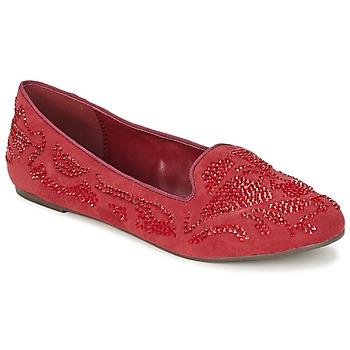 Topánky Ženy Mokasíny Moony Mood LUDIA Červená
