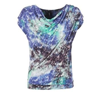 Oblečenie Ženy Blúzky Smash SUIRIRI Modrá / Zelená
