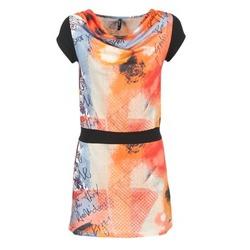Oblečenie Ženy Krátke šaty Smash CITRON Oranžová / čierna